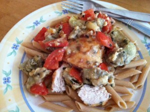 Italian Chicken with Tomatoes and Artichokes