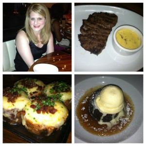 Dinner at STK LA