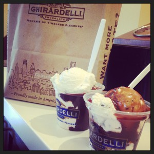 Ghiardelli Ice Cream