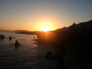 Sunset at Pismo
