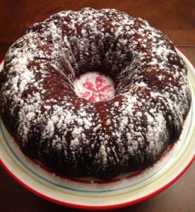 Old-Fashioned Chocolate Buttermilk Poundcake